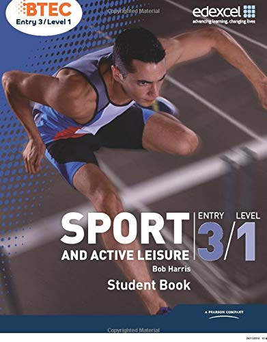 9781846909221: BTEC Entry 3/Level 1 Sport and Active Leisure Student Book