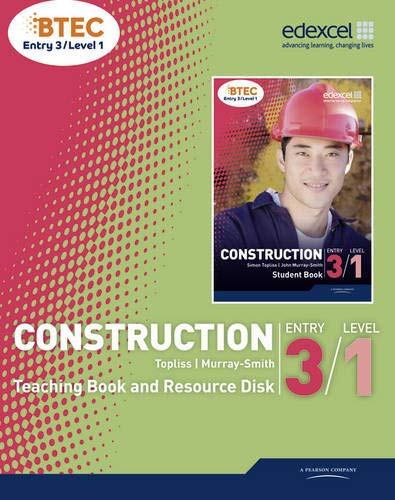 9781846909351: BTEC Entry 3/Level 1 Construction Teaching Book and Resource Disk