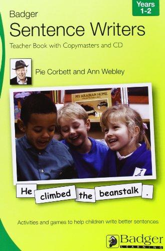 Sentence Writers Teacher Book & CD: Year 1-2: Activities and Games to Help Children Write ...