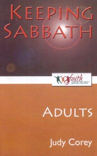 9781846944727: Keeping Sabbath [Adults]