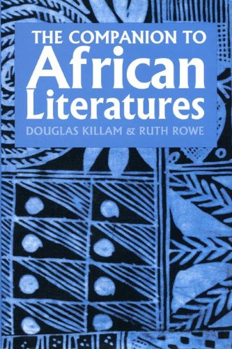 9781847010193: A Companion to African Literatures