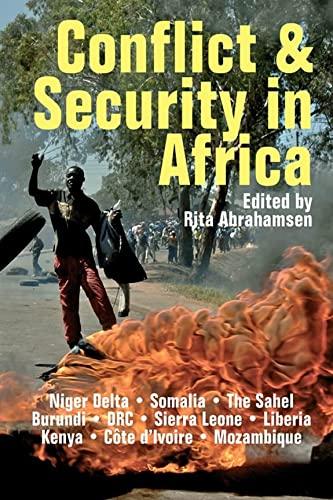 Conflict and Security in Africa (ROAPE African: BOYE6