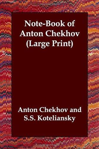 9781847023391: Note-Book of Anton Chekhov