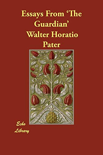 walter horatio pater essays Ral such as [22] indicates that the material immediately following the number marks the beginning of the relevant page i have preserved paragraph structure except for first-line indentation.