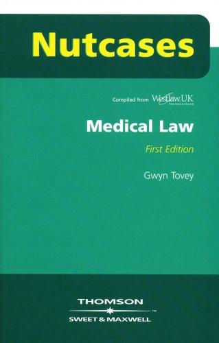 9781847030030: Nutcases Medical Law