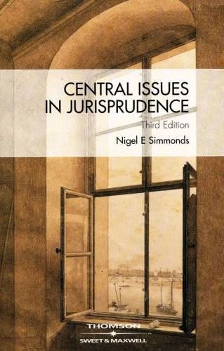 9781847030085: Central Issues in Jurisprudence: Justice, Law and Rights