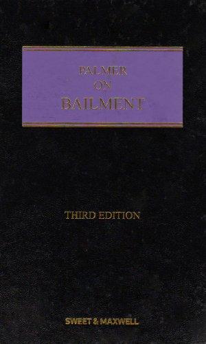 9781847030689: Palmer on Bailment