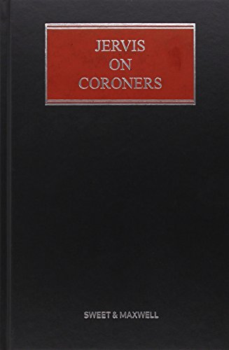 Jervis on Coroners (Hardcover): Paul Matthews