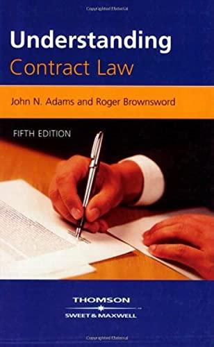 9781847031167: Understanding Contract Law