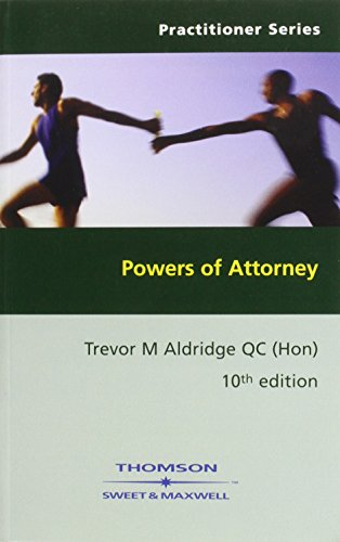 9781847031938: Powers of Attorney
