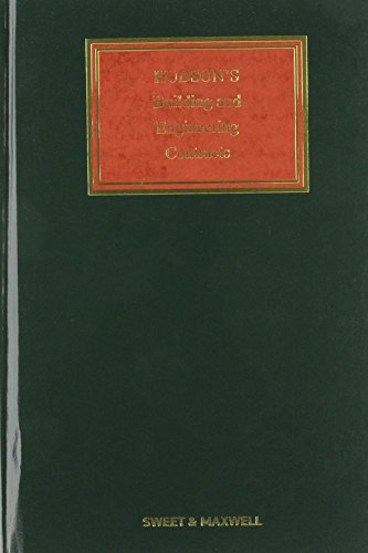 9781847032041: Hudson's Buildings and Engineering Contracts