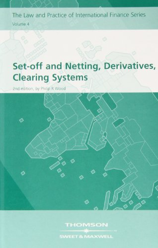 9781847032133: Set-off and Netting, Derivatives, Clearing Systems: v. 4