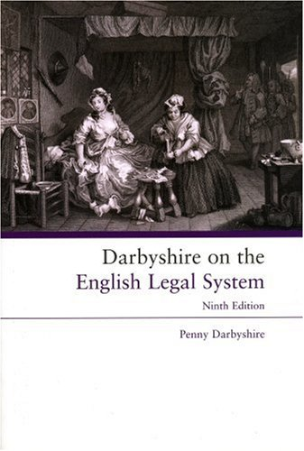 Darbyshire on the English Legal System: Darbyshire, Penny