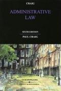 9781847032836: Administrative Law