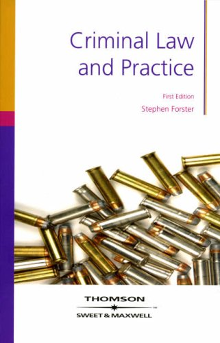 9781847034496: Criminal Law and Practice