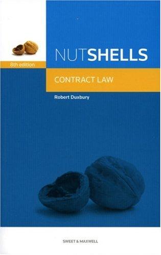 9781847034960: Nutshells Contract Law