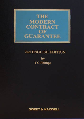 9781847035691: The Modern Contract of Guarantee.