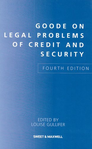 9781847035783: Goode on Legal Problems of Credit and Security
