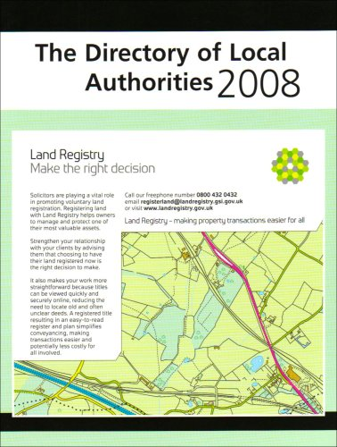 Directory Of Local Authorities 2008