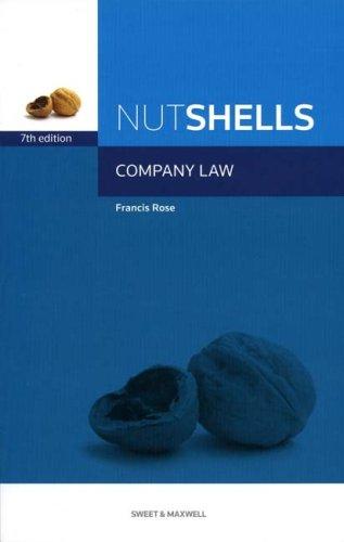 9781847037664: Nutshells Company Law