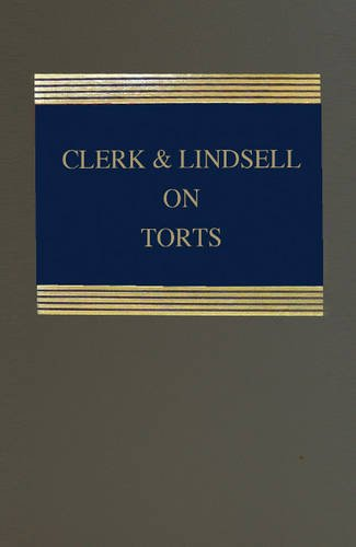 9781847037961: Clerk & Lindsell on Torts Clerk & Lindsell on Torts