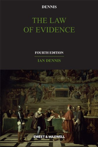 9781847038562: The Law of Evidence