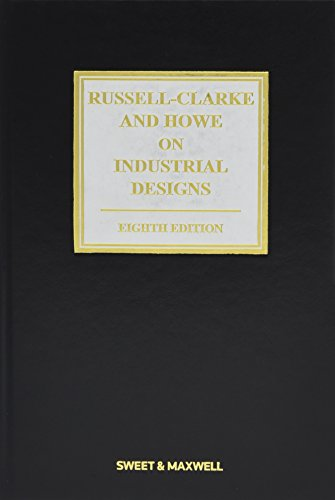 9781847038913: Russell-Clarke and Howe on Industrial Designs