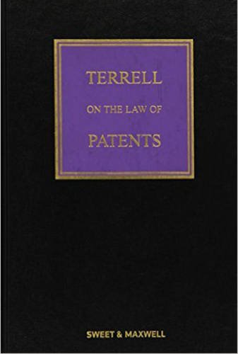 Terrell on the Law of Patents: Birss Colin Burkill