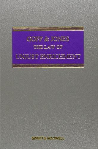 9781847039101: The Law of Restitution. Gareth Jones