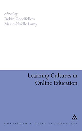 9781847060624: Learning Cultures in Online Education