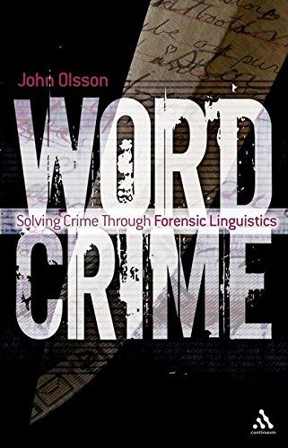 9781847062598: Wordcrime: Solving Crime Through Forensic Linguistics