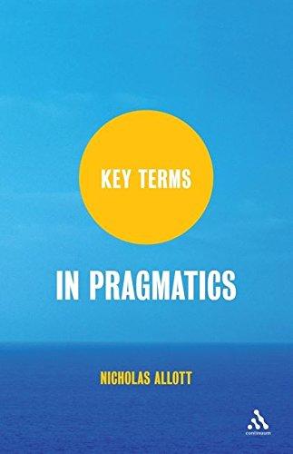 9781847063786: Key Terms in Pragmatics