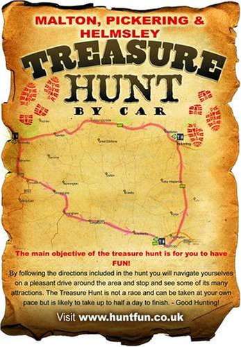 9781847070289: Malton, Pickering and Helmsley Treasure Hunt by Car