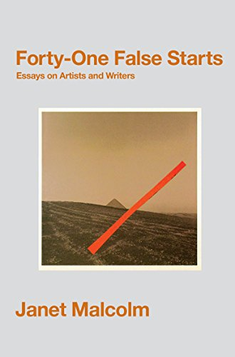 9781847088567: Forty-One False Starts: Essays on Artists and Writers