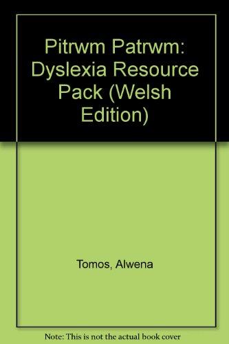 9781847130068: Pitrwm Patrwm: Dyslexia Resource Pack (Welsh Edition)