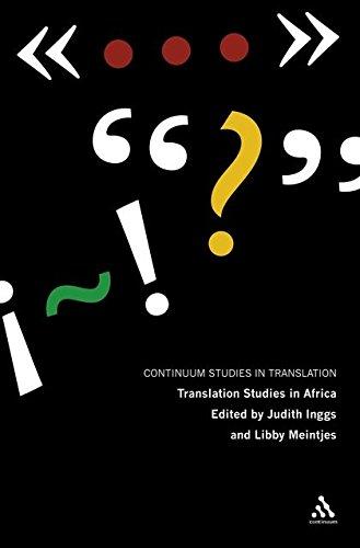 Translation Studies in Africa: Inggs, Judith &