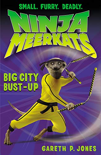 9781847152541: The Big City Bust-Up (Ninja Meerkats)