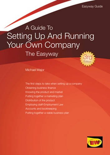 9781847161970: Guide to Setting Up and Running Your Own Company, A : The Easyway