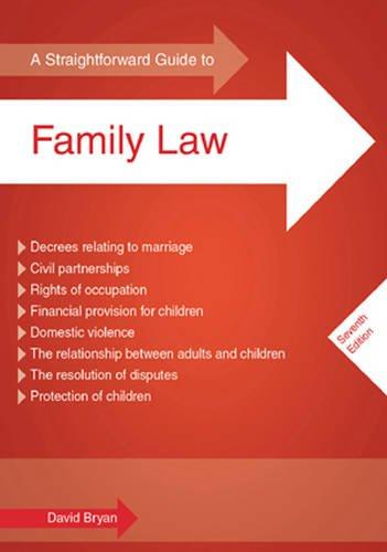 AStraightforward Guide to Family Law by Bryan,: David Bryan