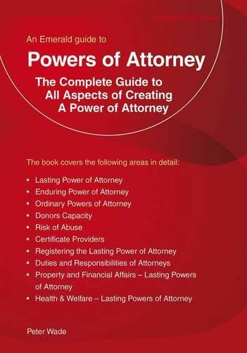 9781847163066: Powers Of Attorney