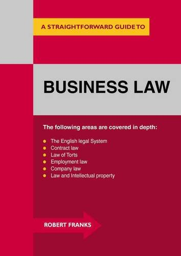 9781847164315: Business Law: A Straightforward Guide