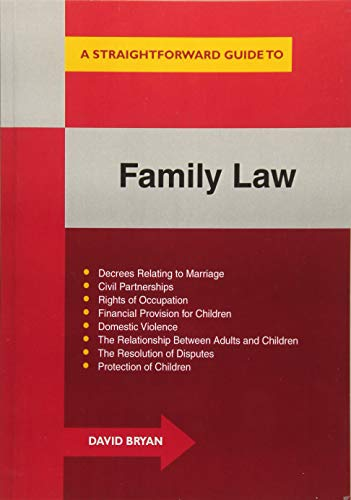 9781847164810: Straightforward Guide To Family Law, A (revised Edition): A concise introduction to all aspects of family law