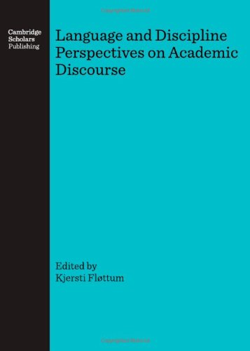 9781847180933: Language and Discipline Perspectives on Academic Discourse