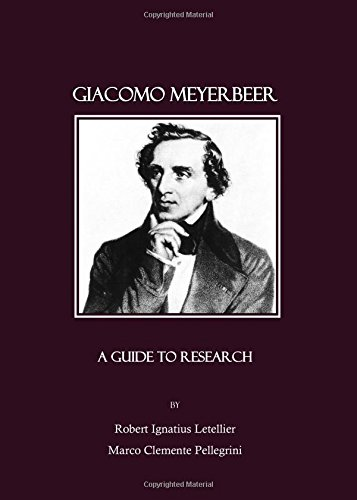 9781847181251: Giacomo Meyerbeer: A Guide to Research