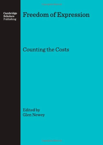 9781847183606: Freedom of Expression: Counting the Costs