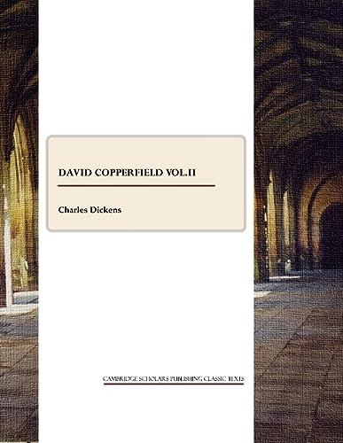 9781847189356: David Copperfield vol.II (v. 2)
