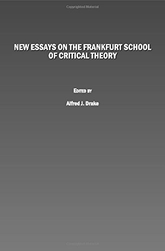 9781847189578: New Essays on the Frankfurt School of Critical Theory