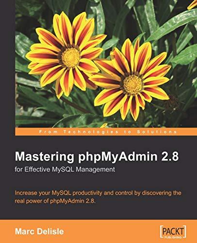 9781847191601: Mastering Phpmyadmin for Effective MySQL Management 2e
