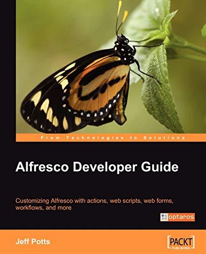 9781847193117: Alfresco Developer Guide