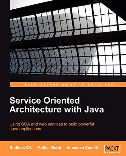 9781847193216: Service Oriented Architecture with Java